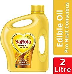 Saffola Total, Pro Heart Conscious Edible Oil, Jar, 2 L