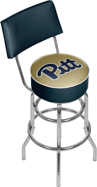 NCAAピッツバーグ大学パッド入りバースツールwith Back