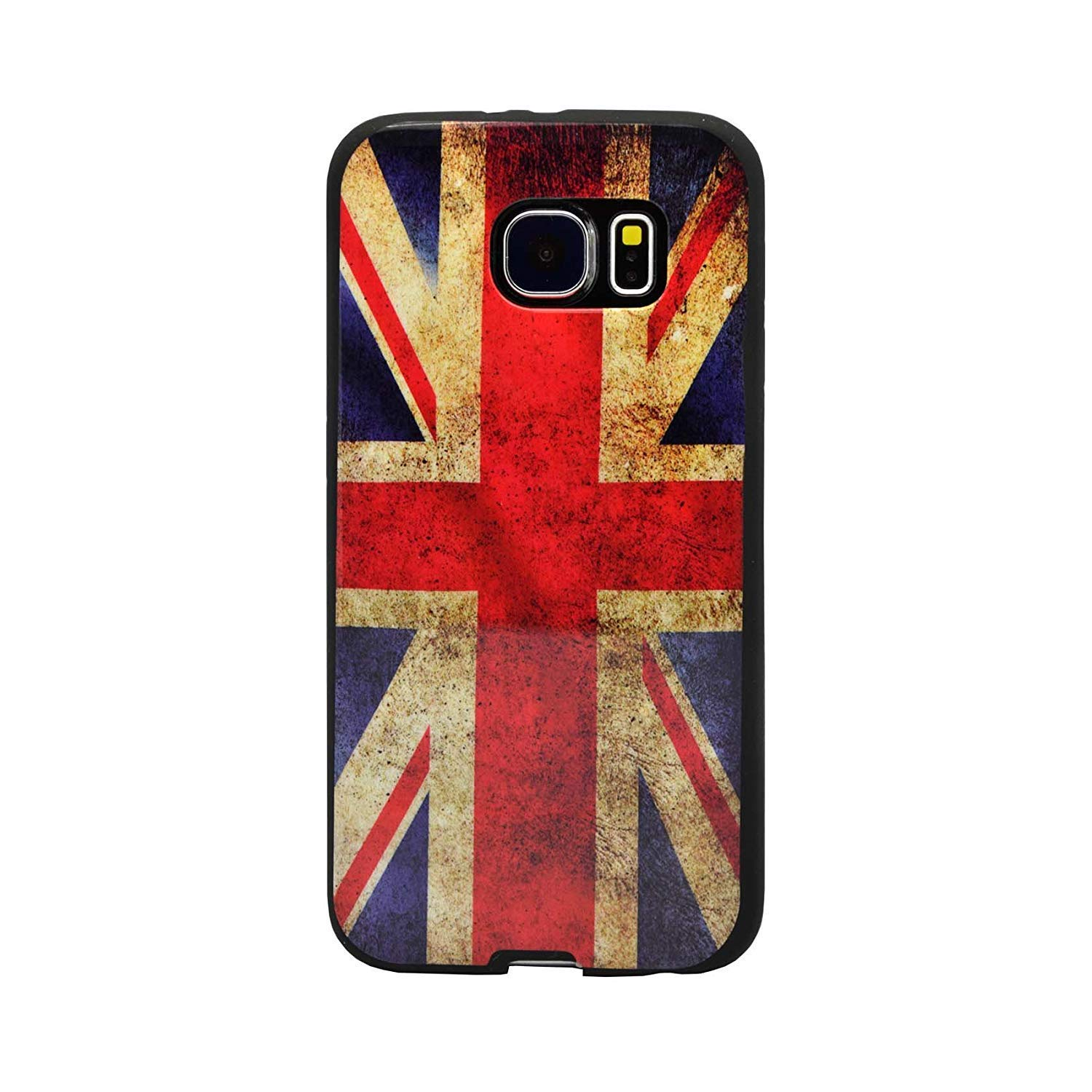 b7c6cd8f2a COMPATIBLE WITH SAMSUNG GALAXY S6 VINTAGE UNION JACK PRINTED DESIGN GEL CASE  COVER AND SCREEN PROTECTOR FROM GADGET BOXX: Amazon.co.uk: Electronics