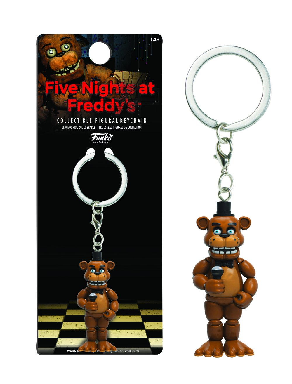 Llavero Figura Five Nights at Freddys Freddy