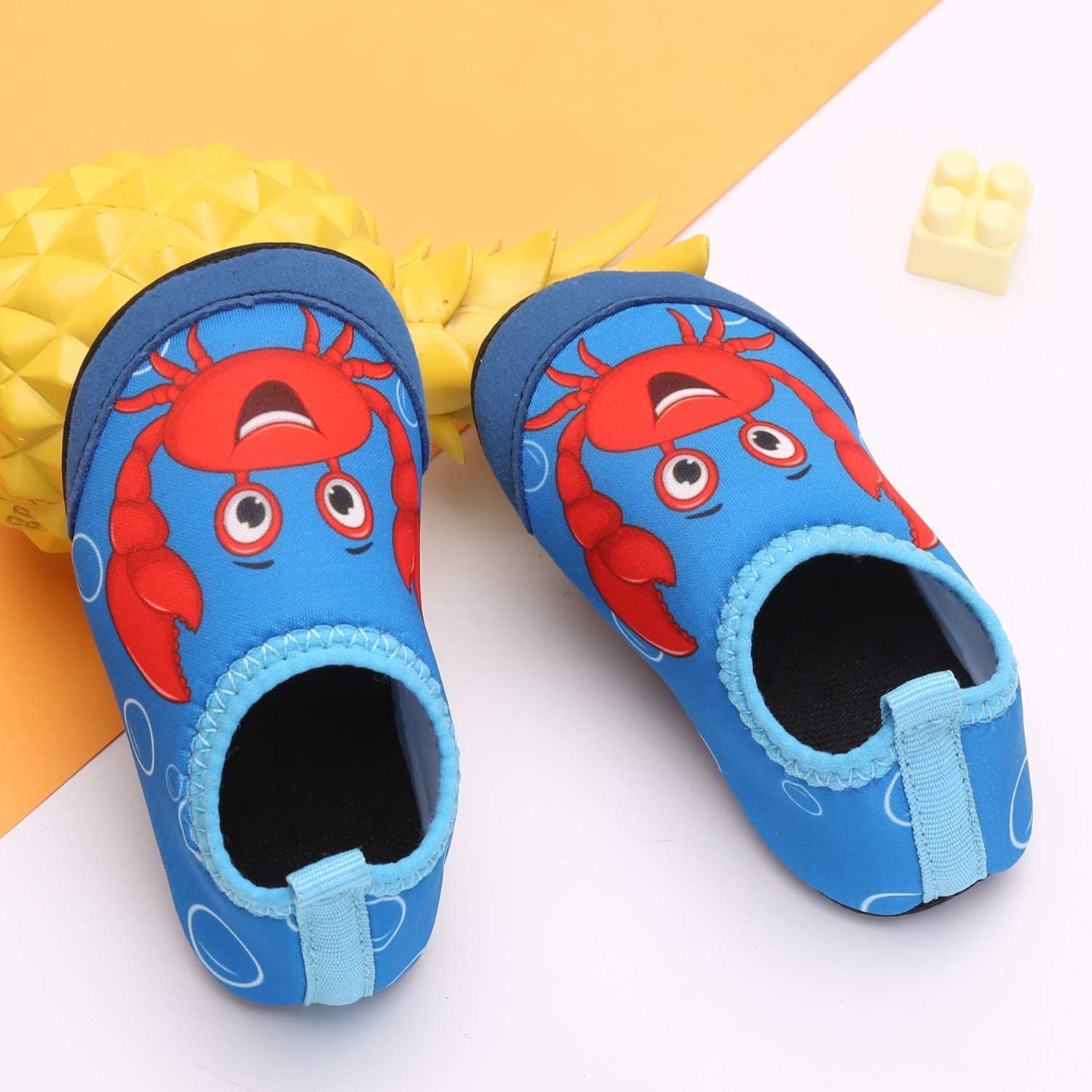MoreDays Kid Toddler Non-Slip Quick Dry Water Shoes Aqua Socks Shoes for Beach Swim Pool Baby Boys Girls