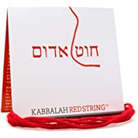 The ORIGINAL Kabbalah String from Israel RED STRING Kabbalah Bracelet Pack - 60 Inch Red String for up to SEVEN Evil Eye…