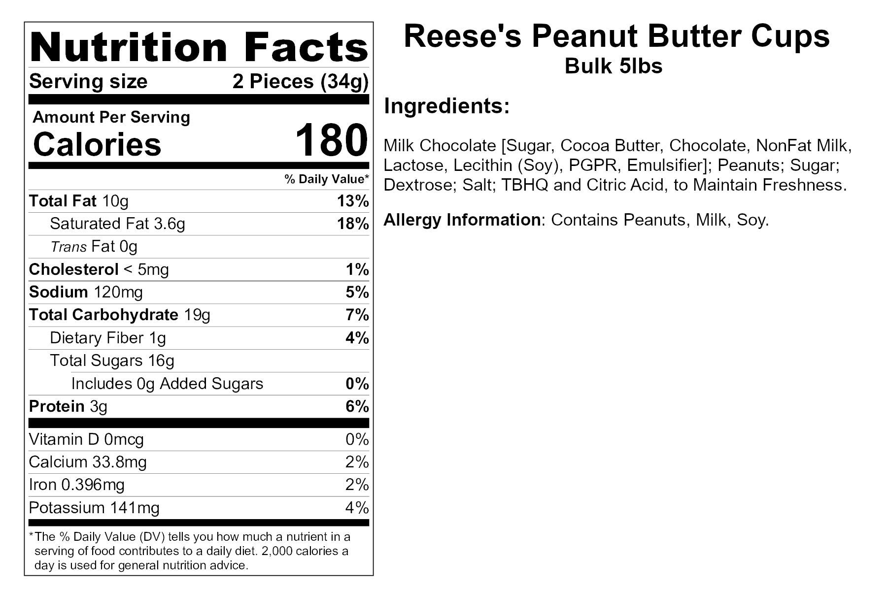 REESE'S Peanut Butter Cups, Milk Chocolate, Snack Size (5 Pounds) by Reese's