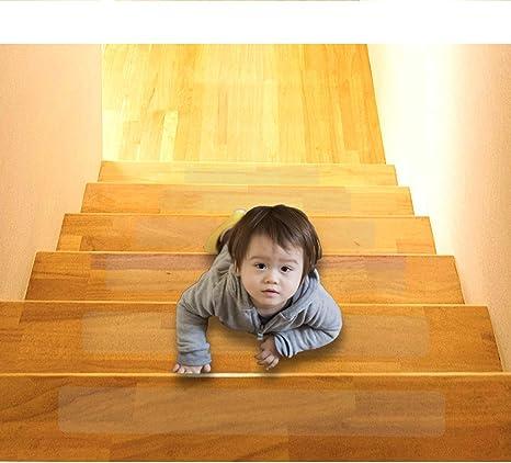 15xAntirutschstreifen Treppe Set Anti Rutsch Selbstklebende Stufenmatten Transpa