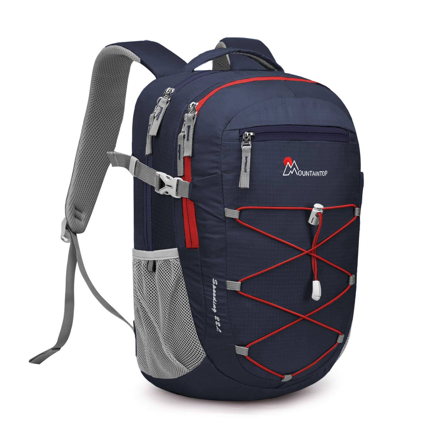 MOUNTAINTOP 22L Unisex Hiking Camping Backpack