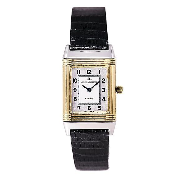 Jaeger LeCoultre Reverso cuarzo mujer reloj 260.5.08 (Certificado) de segunda mano