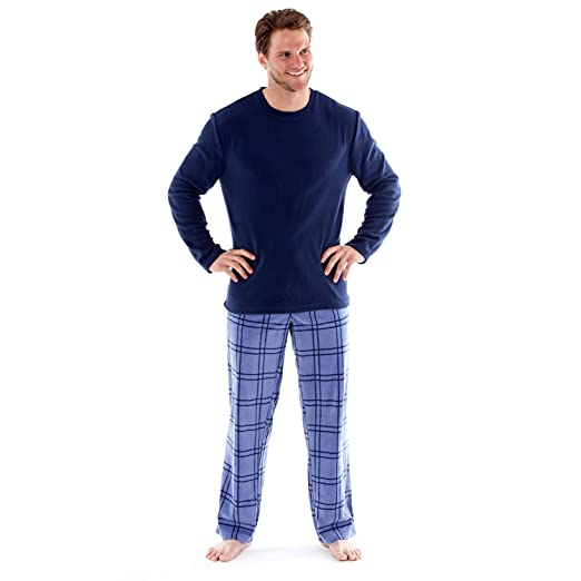 34 opinioni per Harvey James- set pigiama uomo- maniche lunghe- stampa a quadretti