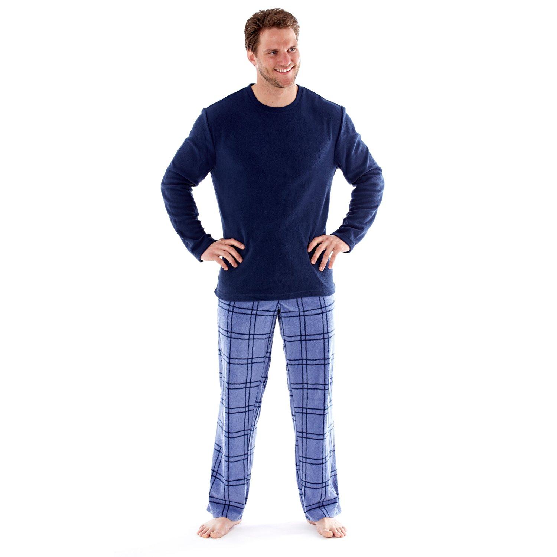Harvey James - Conjunto de pijama de manga larga - Hombre - Pantalón a cuadros product