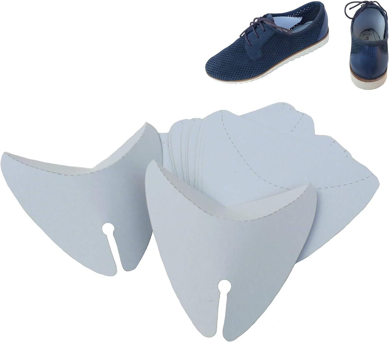 1 Pair Footsies Natural CanvasOrganic Fill Shoe Saver Shapers