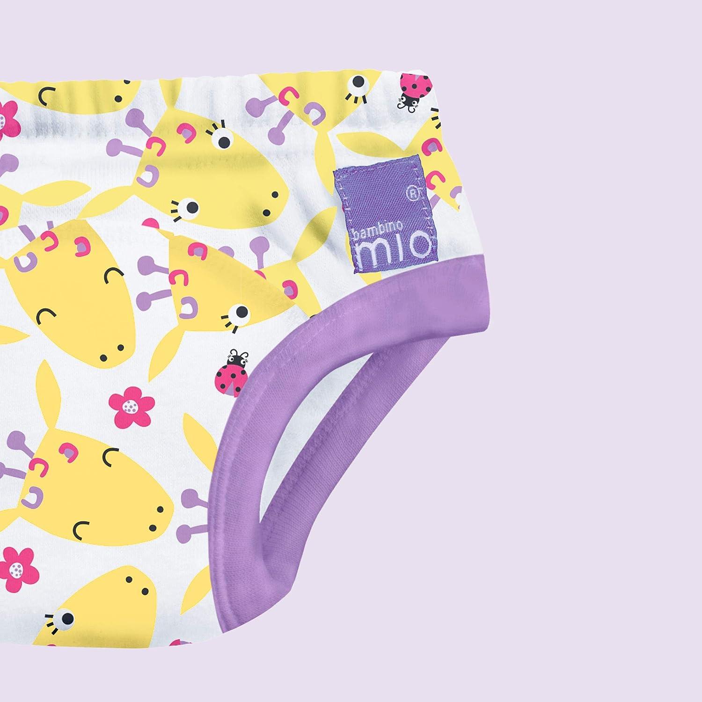3er Packung Gigantische Giraffen mehrfarbig 2-3 Jahre Bambino Mio 3TP2-3 ARO T/öpfchen-Trainingshose
