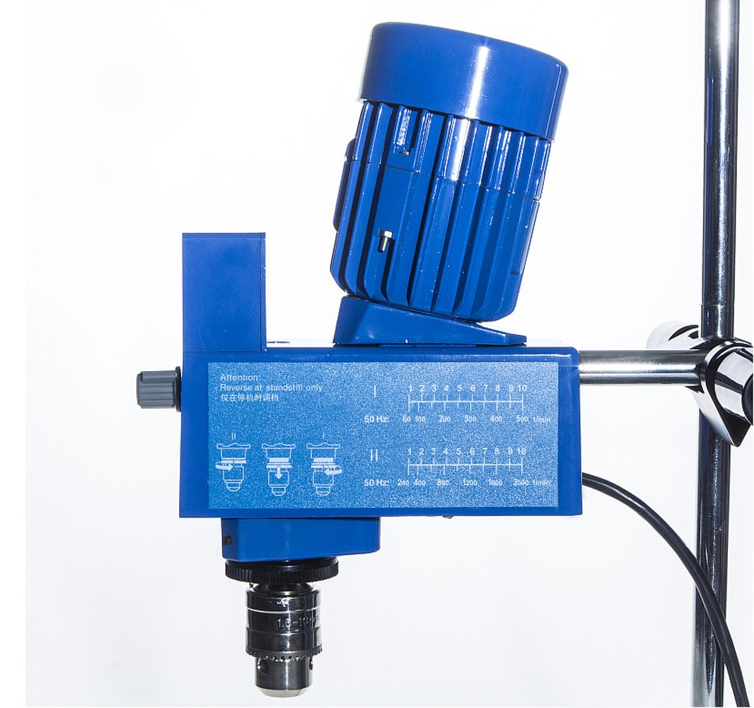 Lab Digital Overhead Stirrer Lab Mixer Heavy Duty Overhead Laboratory Mixer industrial liquid mixer 0~10000mpas, 20L, 2 Years Warranty by XZBELEC (Image #5)