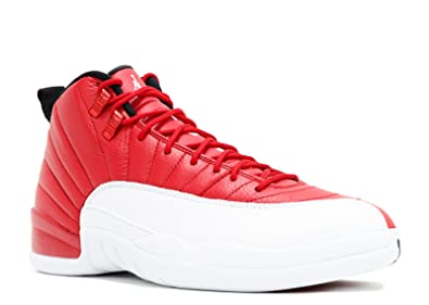 Nike Air Jordan 12 Retro, Chaussures de Sport-Basketball Homme, Rojo (Gym