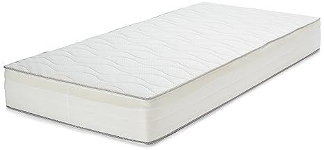 Materasso A Molle Singolo Prezzo.Amazonbasics Materasso Extra Comfort A 7 Zone A Molle Medio 90 X
