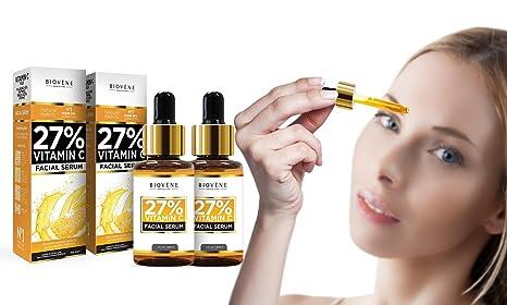 Sérum facial Biovène 27% vitamina C DUO PACK by RNBCOSMETICS serie limitada - N°