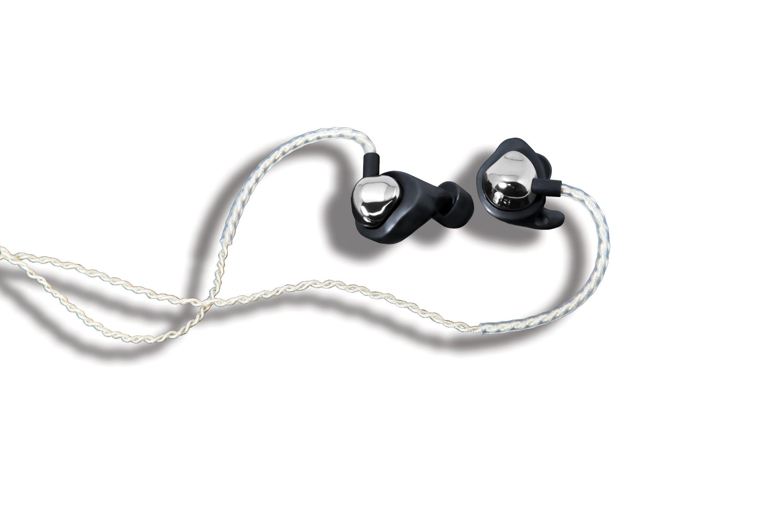 I-MEGO In-Ear Monitor Earphones, ZTONE, Silver