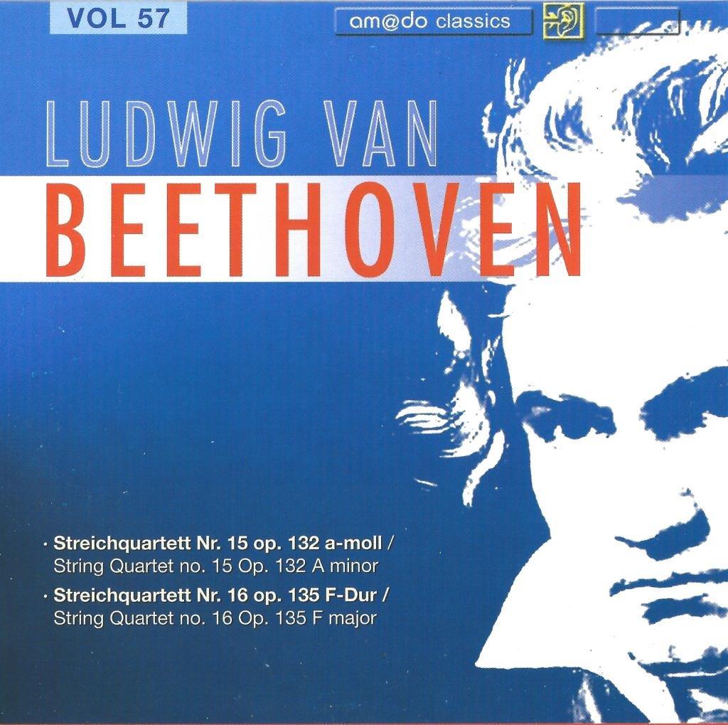 Beethoven Complete Works [Disc 57] String Quartets No  15 & 16