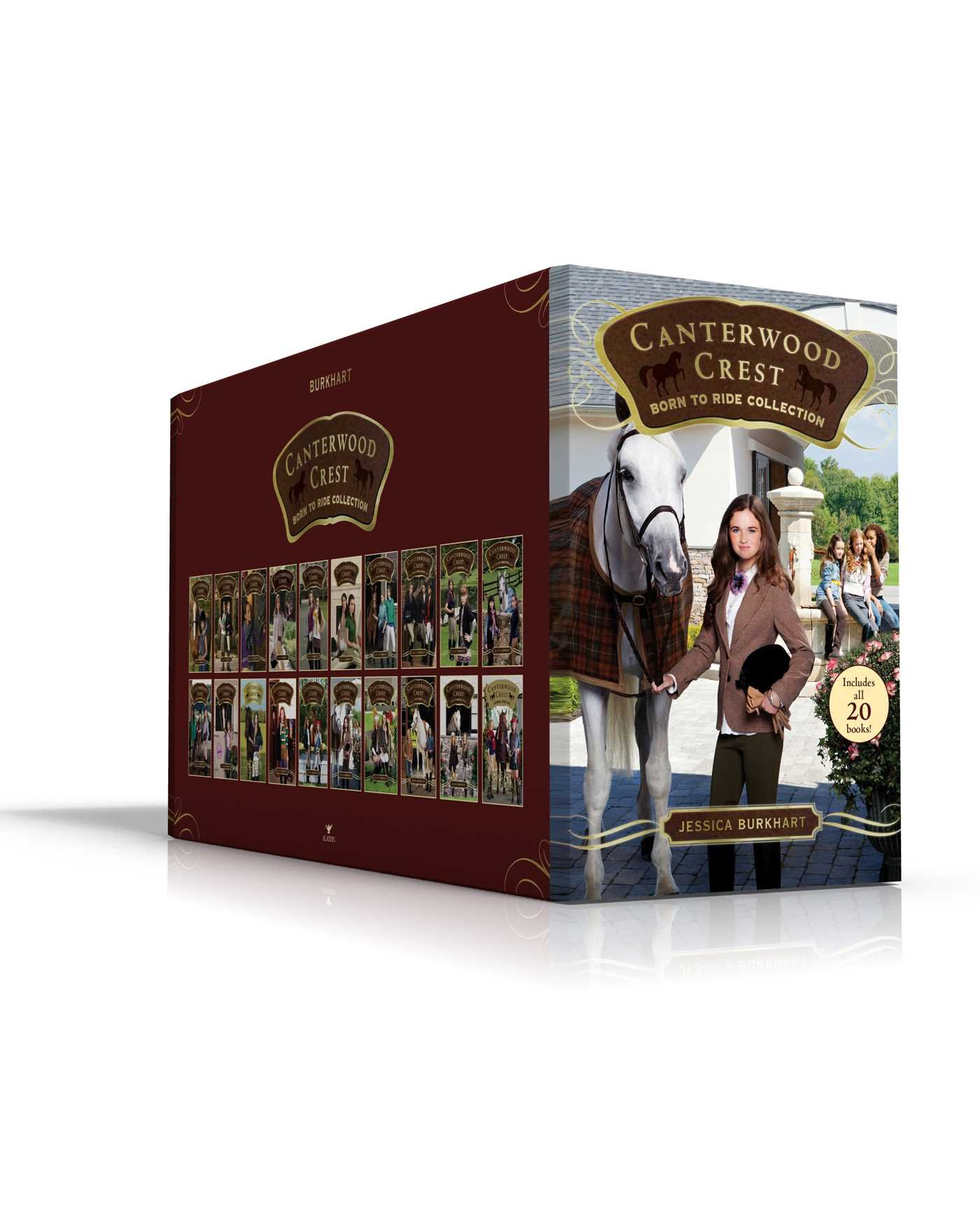 Canterwood Crest Born to Ride Collection: Take the Reins; Chasing Blue; Behind the Bit; Triple Fault; Best Enemies; Little White Lies; Rival Revenge; ... Chosen; Initiation; Popular; Comeback; etc.