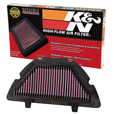 K&N Engine Air Filter: High Performance, Premium, Powersport Air Filter: 2007-2008 YAMAHA (YZF R1) YA-1007: Automotive