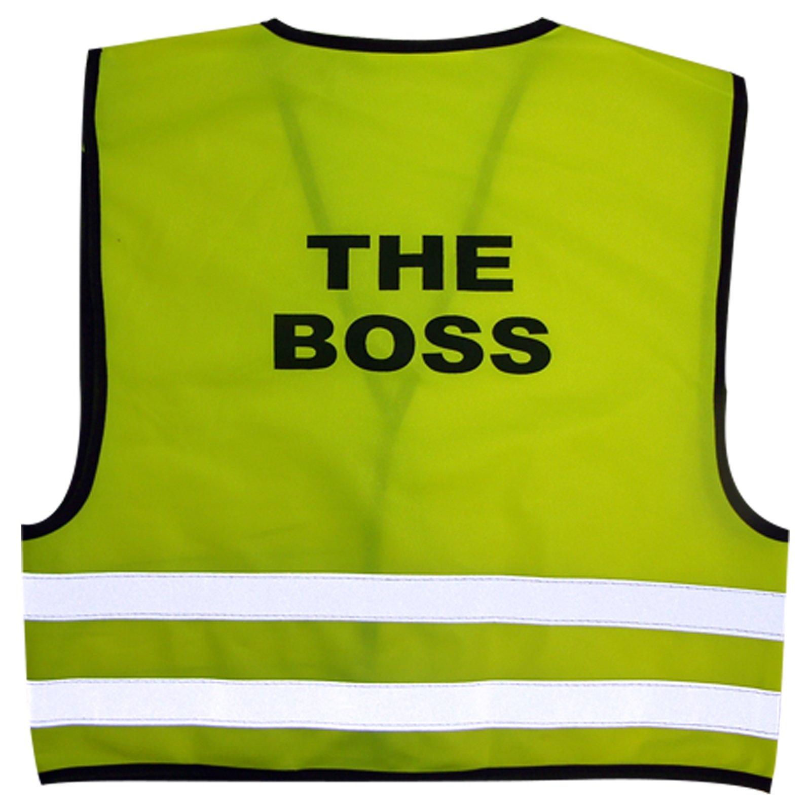 Trainee Builder Yellow Kids Childrens Boys Girls Hi-Vis Visibility Safety Vest