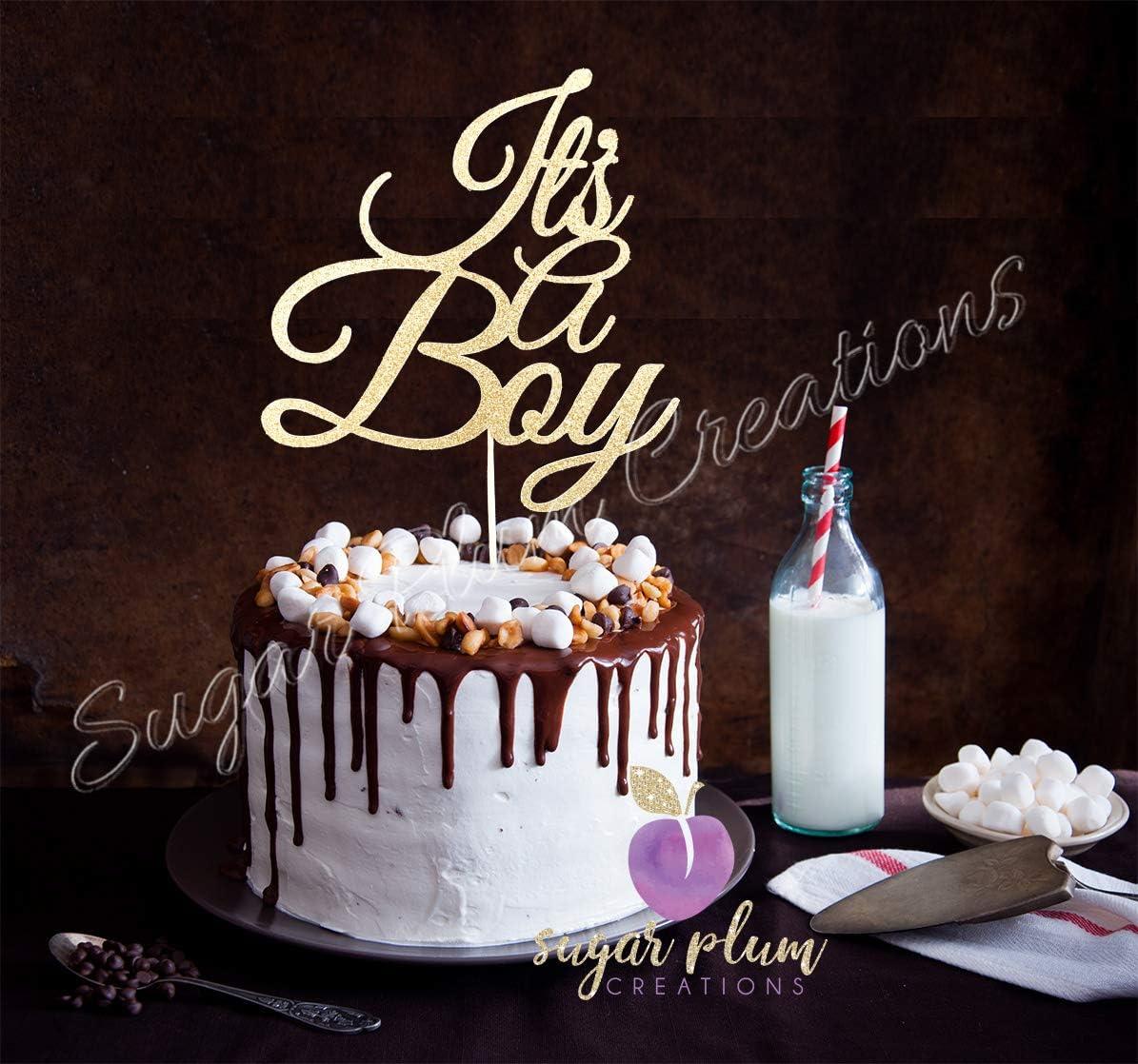 Baby Girl Cake Topper Sugar Plum Creations