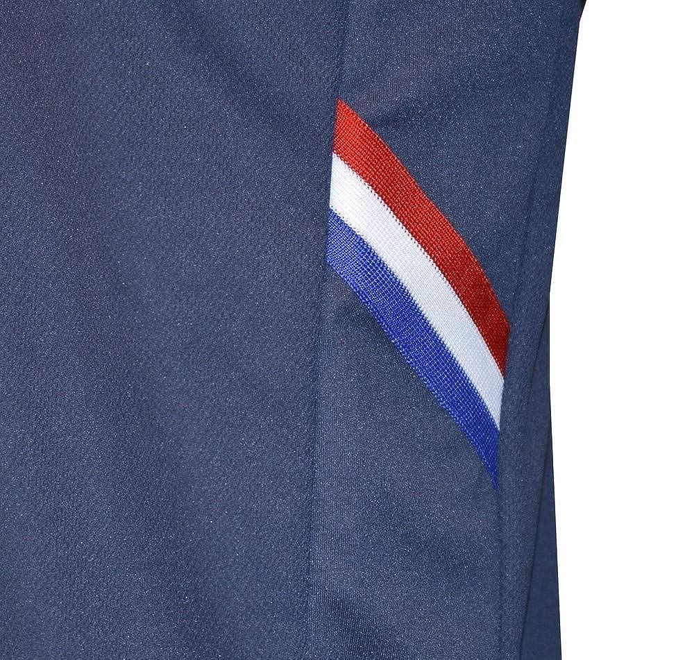 L Bleu Tee Shirt Rugby France Fitness Marine