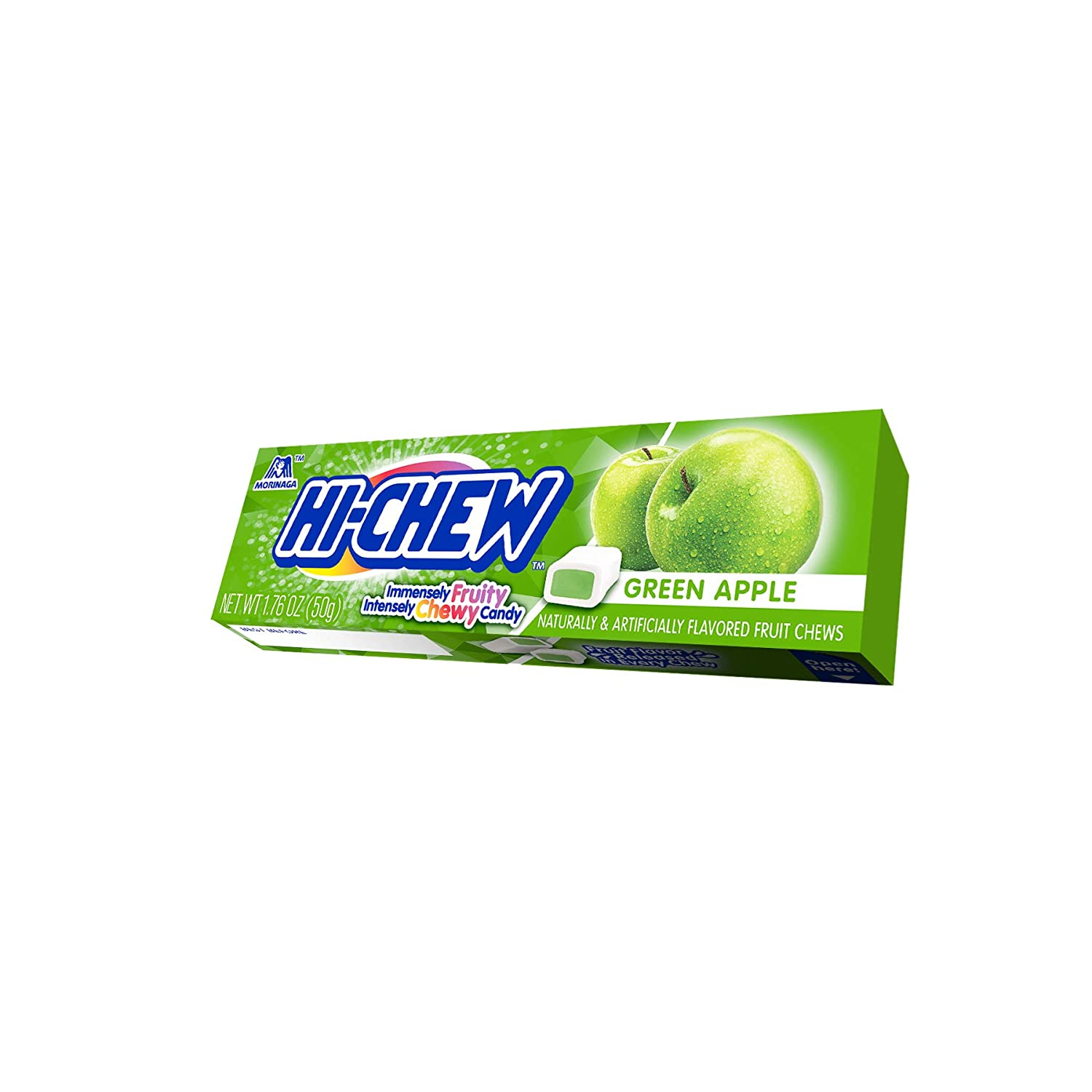 Hi-Chew Stick, Green Apple, 1.76 Ounce (Pack of 15)