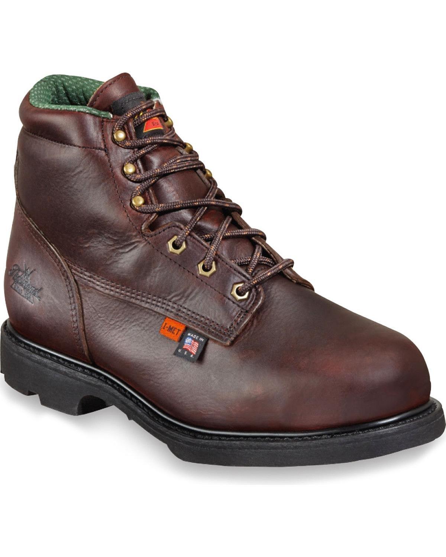 804 – 4541 Thorogoodメンズi-met2ガード安全靴 – ブラックウォールナット B00ORMA9CQ 14 D(M) US|ブラック ブラック 14 D(M) US