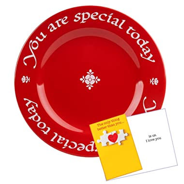 Waechtersbach You Are Special Today Red Plate - Premium Ceramic Dinner Plate