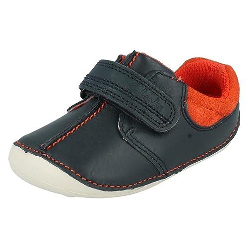 Clarks - Mocasines para niño Azul Azul Marino: Amazon.es: Zapatos y complementos