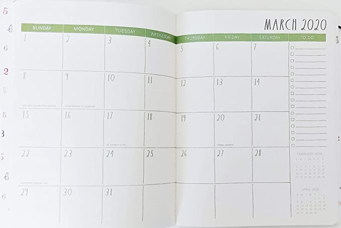 Amazon.com: Rae Dunn Plan Ahead 2020 Calendario mensual ...