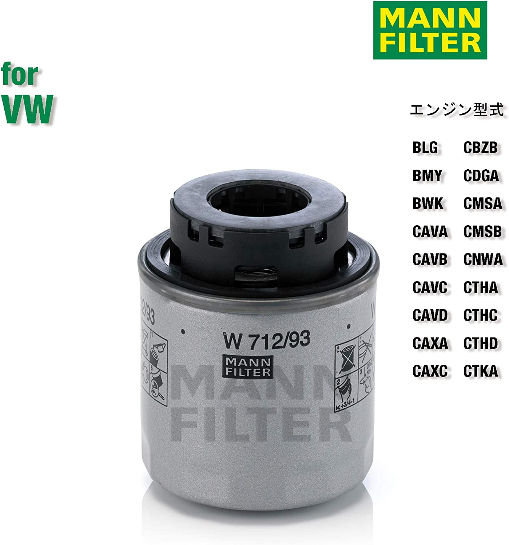Per Automobili Originale MANN-FILTER Filtro Olio W 712//94