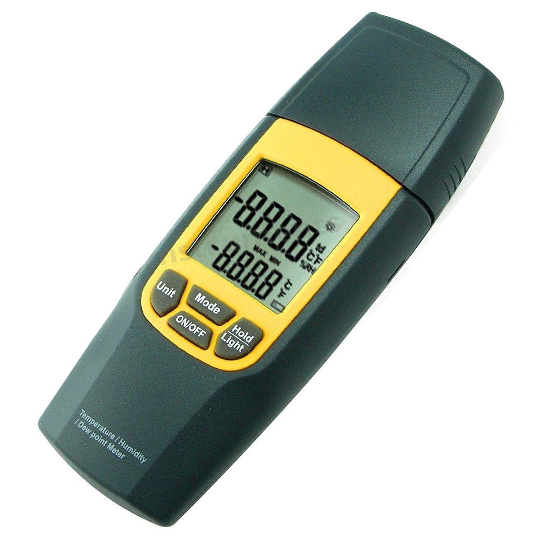 Medidor de humedad relativa del aire digital de temperatura con punto de rocío Gain Express Holding Ltd. 8010