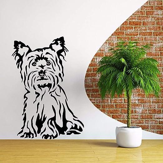 ljradj Yorkshire Terrier Perro Pegatinas de Pared para Vivero ...