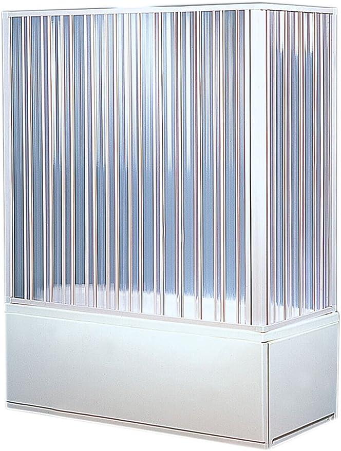 Forte, BKP200001 - Mampara de bañera angular, 2 lados: Amazon.es ...