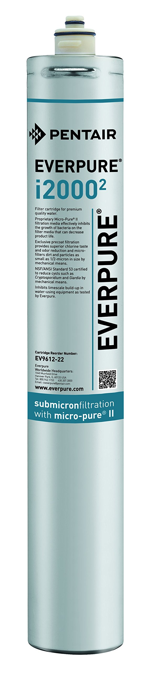 Everpure EV9612-22 i2000^2 Filter Cartridge by Everpure