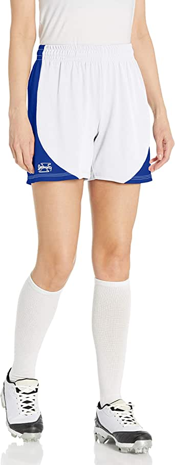 Intensity Womens Contoured Mock Mesh Short with Side Panels