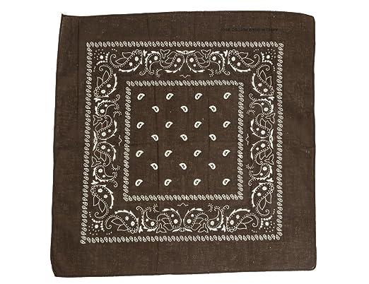 Shenky Bandana Headscarf 100 Cotton Paisley Pattern Amazon