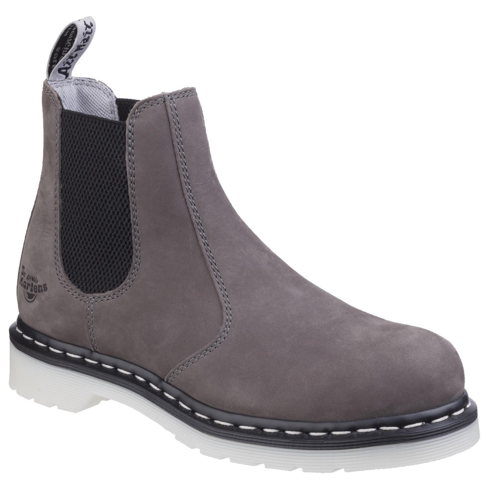 Dr. Martens Women's Arbor Steel Toe Light Industry Boots