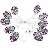 FRCOLOR Eid Mubarak String Lights Eid String Lamps LED Curtain Lights Muslim Ramadan Fairy String Lights for Lasser…