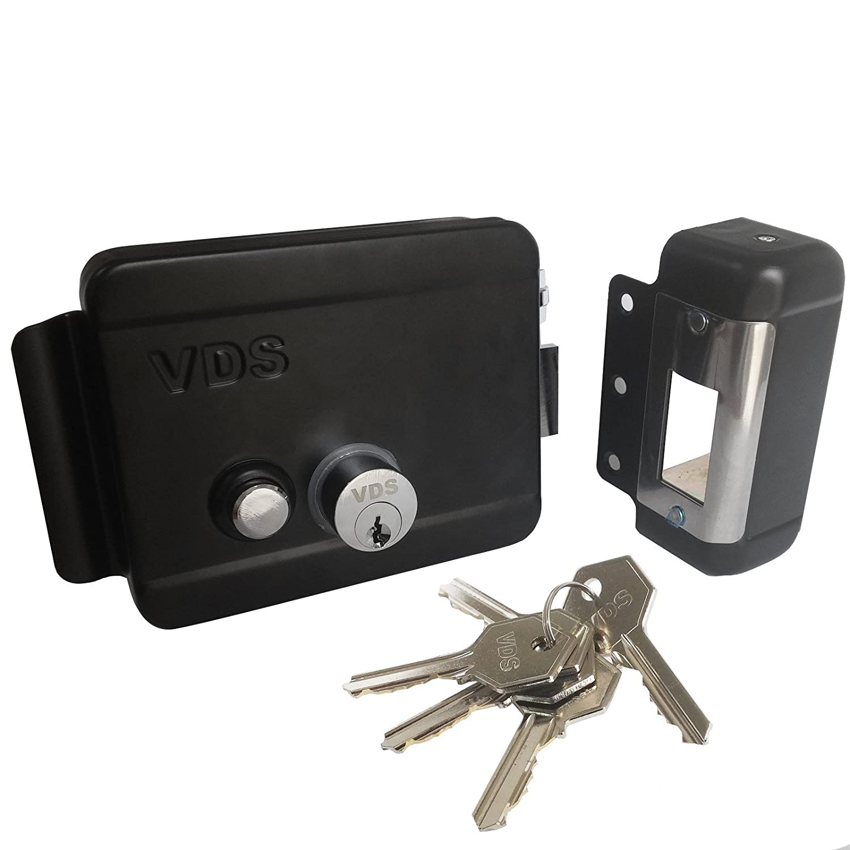 Cerradura elé ctrica Cancela elettroserratura VDS de puerta izquierda derecha Area shopping