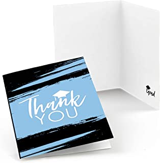 product image for Big Dot of Happiness Light Blue Grad - Best is Yet to Come - Light Blue Graduation Party Thank You Cards (8 Count)