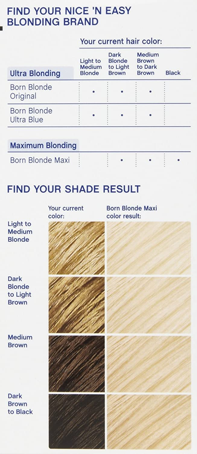 Clairol Born Blonde Hair Color Reviews Best Image Of Blonde Hair 2018