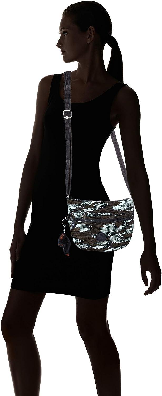 Kipling Arto S, Bolso Bandolera para Mujer Multicolor (Dynamic Dots) wS9rQrNa