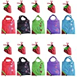 Shopping Eco Bags NYKKOLA Clourful Reusable Shopping Eco Bags,Pack of 10