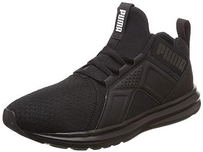 puma black soft foam shoes