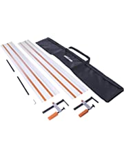 Evolution Power Tools ST2800 Track/Guide Rail For Circular Saws (Clamps and Carry Bag Included), 2800 mm