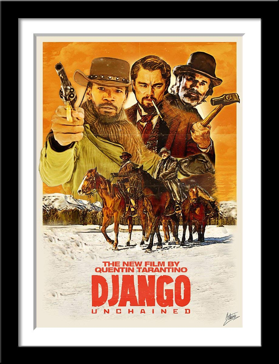 Quality Large Hateful Eight Poster CHOOSE YOUR SIZE Tarantino Movie FREE P+P