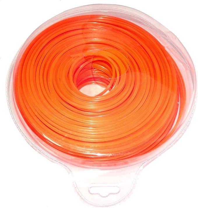 AERZETIX: Hilo de nylon perfil estrella 2.4mm 103m para desbrozadora C18617: Amazon.es: Bricolaje y herramientas