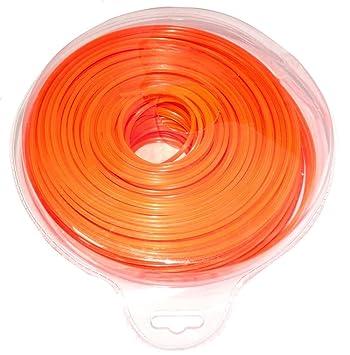 AERZETIX: Hilo de nylon perfil estrella 2.4mm 103m para ...