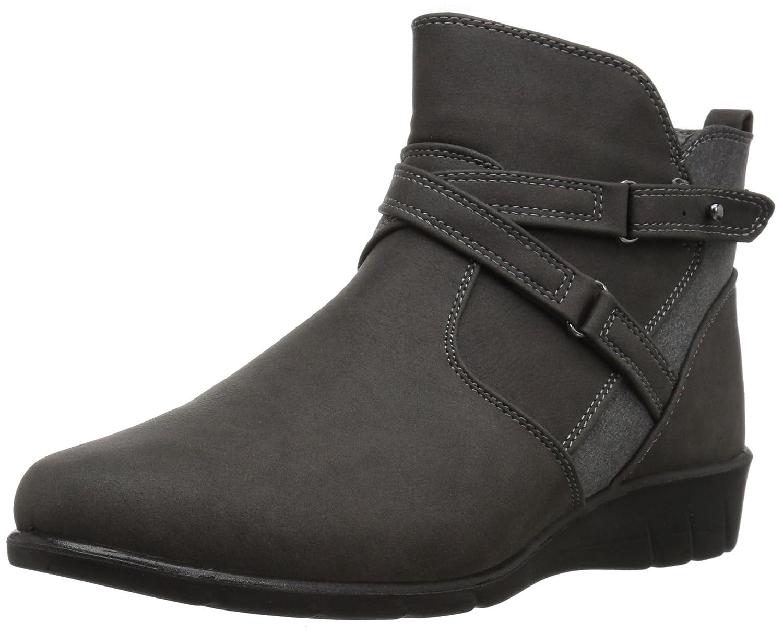 Easy Street Women's Davis Ankle Bootie B071SM2HLZ 6.5 2W US|Grey